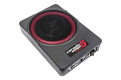 1. Cerwin-Vega Mobile VPAS10 Powered Active Subwoofer Enclosure - Underseat Subwoofers
