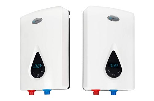 1. Marey ECO150 220V, 240V-14.6kW Tankless Water Heater with Smart Technology