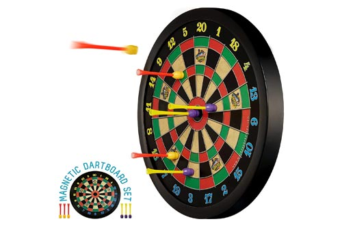 10. Doinkit Darts Kid-Safe Indoor Magnetic Dart Board - Easy to Hang, Fun to Play, No Holes in Walls