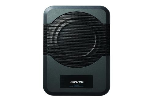 3. Alpine Electronics PWE-S8 Restyle Compact Powered 8-Inch Subwoofer - Underseat Subwoofers