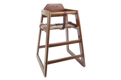 3. Children's Commercial Wooden High Chair by Thunder Group