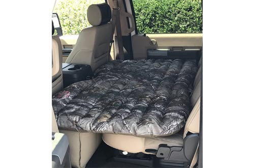 4. Pittman Outdoors PPI CMO_TRKMAT Camo Inflatable Rear Seat Air Mattress for SUVs