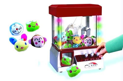 5. The Claw Toy Grabber Machine with Flashing lights & Sounds and Animal Plush - Features Electronic Claw Toy Grabber Machine by Define Essentials