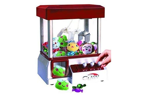 6. Etna The Claw Toy Grabber Machine with Sounds and Animal Plush - Features Electronic Claw Toy Grabber Machine