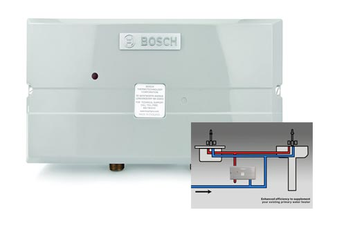 7. Bosch - Eliminate Time for Hot Water - Easy Installation, 9.5 kW - US9