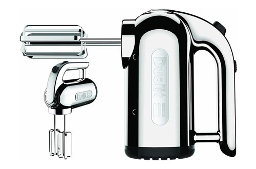 7. Dualit 4-Speed Professional Hand Mixer, Chrome