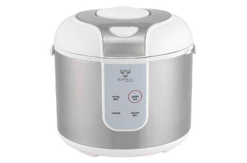7. New Buffalo Classic Rice Cooker, 5 cups