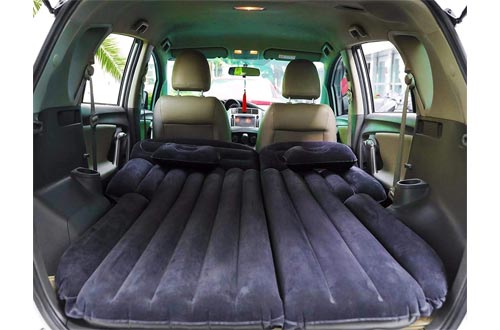 7. Onirii Inflatable Car Air Mattress with Back Seat Pump Portable Travel, Camping, Vacation