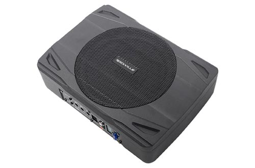 7. Rockville SS8P 400w Slim Under-Seat Active Powered Car Truck Subwoofer Sub - Underseat Subwoofers