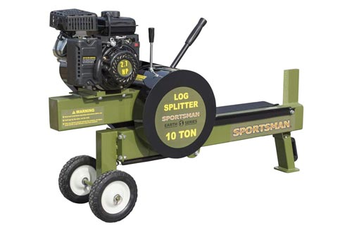 10. 10 Ton Gas Powered Kinetic Log Spitter by Sportsman Earth Series