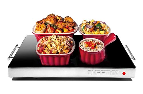 10. Chefman Electric Warming Tray with Adjustable Temperature Control, Perfect for Buffets