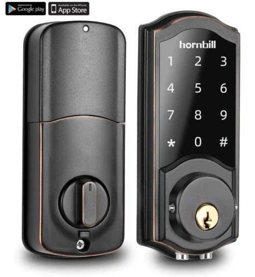 10.Keyless Entry Door Lock Deadbolt, Smart Lock Front Door, Electronic Door Locks with Keypads, Digital Auto Lock