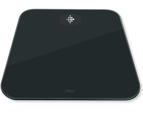 11.Fitbit Aria Air Bluetooth Digital Body Weight and Bmi Smart Scale, Black