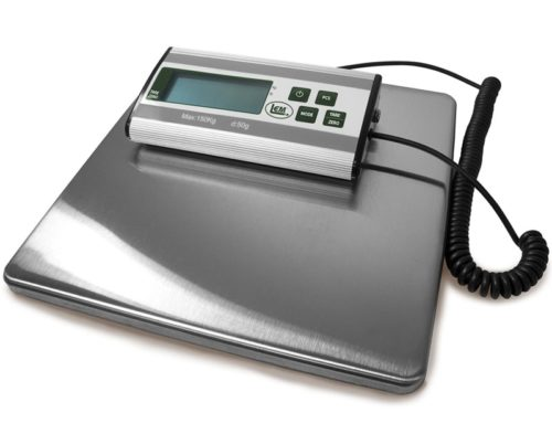 13.LEM Products 1167 Stainless Steel Digital Scale (330-Pound Capacity)