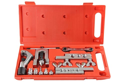 2. Shankly Flaring Tool Set, 10 Piece - Professional Grade, Heavy Duty Steel Flaring Tools Kit