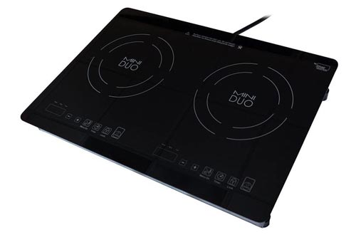 2. True Induction Mini Duo MD-2B Portable Counter Inset Double Burner Induction Cooktop