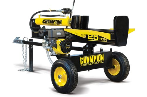 4. Champion 25-Ton Horizontal, Vertical Full Beam Gas Log Splitter with Auto Return