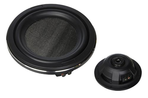 4. Kenwood Excelon KFC-XW1000F 10-Inch 1000 Watt Shallow Mount Car Subwoofer