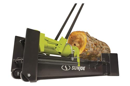 5. Sun Joe LJ10M 10-Ton Hydraulic Log Splitter, Green - Kinetic Log Splitters