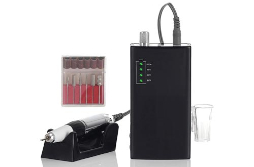 7. Miss Sweet Portable Nail Drill Machine Rechargeable Electric Nail File for Acrylic RPM30000