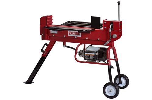 8. Boss Industrial ED10T20 Industrial Electric Log Splitter, 10-Ton