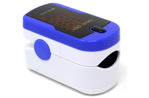 8. ChoiceMMed Finger Pulse Oximeter - Blood Oxygen Saturation Monitor Great as SPO2 Pulse Oximeter