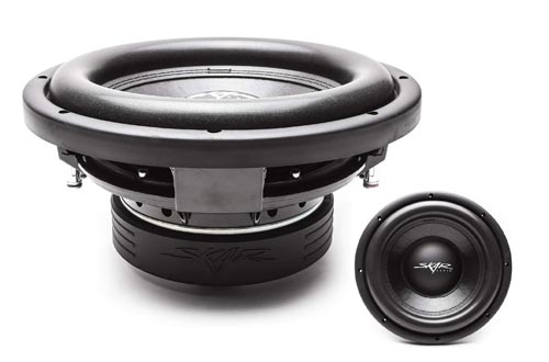 8. Skar Audio VD-10 D2 10 800W Max Power Dual 2 Ohm Shallow Mount Subwoofers