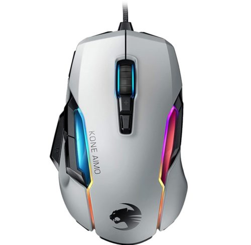 8.Roccat Kone AIMO Gaming Mouse (High Precision, Optical Owl-Eye Sensor (100 to 16.000 DPI), RGB Aimo LED Illumination, 23 Programmable