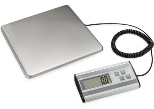 8.Smart Weigh Digital Heavy Duty Shipping and Postal Scale with Durable Stainless Steel Large Platform, 440 lbs Capacity