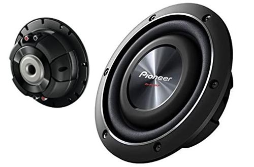 9. Pioneer TS-SW2002D2 8-inch Shallow-Mount Subwoofer with 600 Watts Max Power