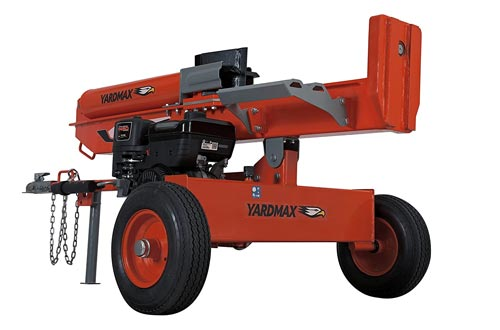 9. YARDMAX YU3566 35 Ton Full Beam Gas Log Splitter, 4-Way Wedge, Briggs & Stratton