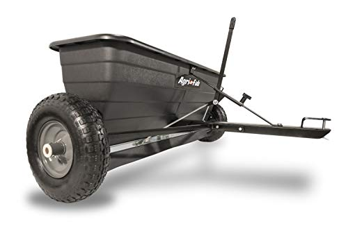 10. 175-Pound Max Tow Behind Drop Spreader by Agri-Fab
