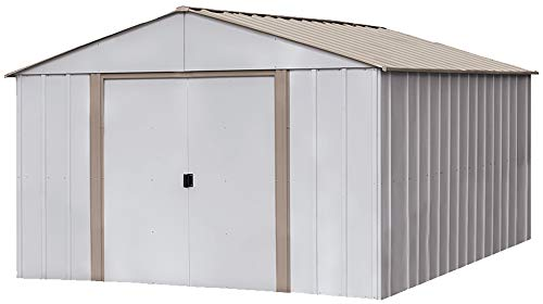 2. High Gable Steel Storage Shed by Arrow