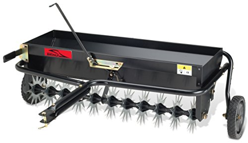 "5. 40"" Tow Behind Combination Aerator Spreader by Brinly"