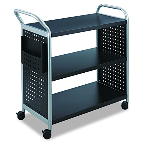5. Scoot Steel Utility Cart by Safco Book Cart