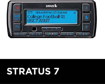 7. SiriusXM Stratus 7 Satellite Radio Receiver for Cars