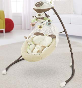 5. Fisher-Price Baby Cradle Swing