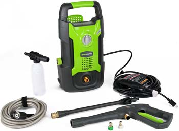8. Greenworks 1500 PSI Pressure Washer