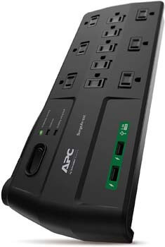 5. APC Surge Protector with USB Ports