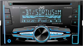 5. JVC Satellite Radio Receiver with Remote