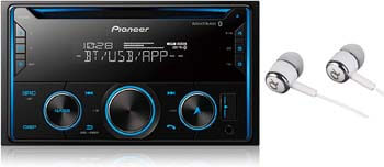 6. Pioneer Double-din Satellite Radio Receiver