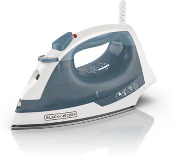3. Black and Decker Easy Steam Iron
