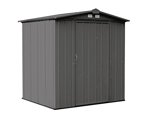 8. Steel Storage Shed with Peak Style Roof by Arrow