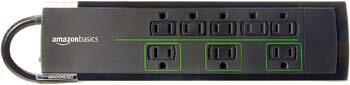 3. AmazonBasics 8-Outlet Surge Protector