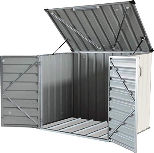 4. Metal Storage Shed Kit by Click-Well