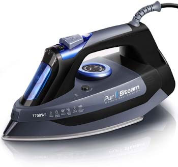 7. PurSteam Heat-resistant Steam Iron