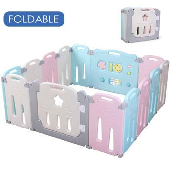 1. Potby Foldable Baby Playpen