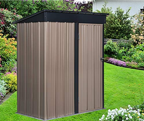 10. Outdoor Metal Garden Storage Shed by DOIT