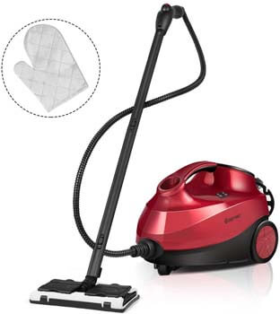 2. Costway Chemical-Free Portable Steam Cleaner