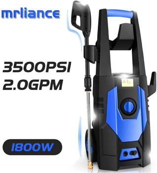 2. mrliance 3500PSI Pressure Washer